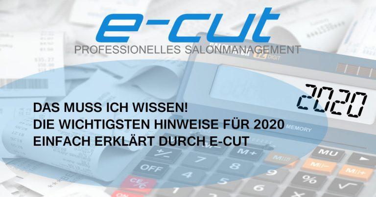 Kassensicherungsverordnung (KassenSichV) 2020